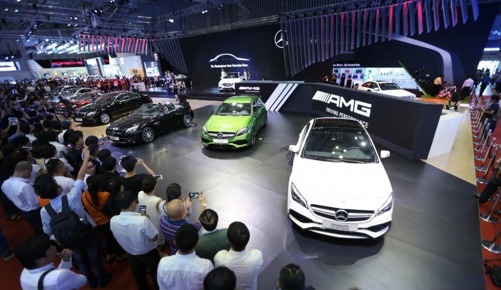 Mercedes-Benz có doanh số cao nhất Việt Nam trong năm 2017 1