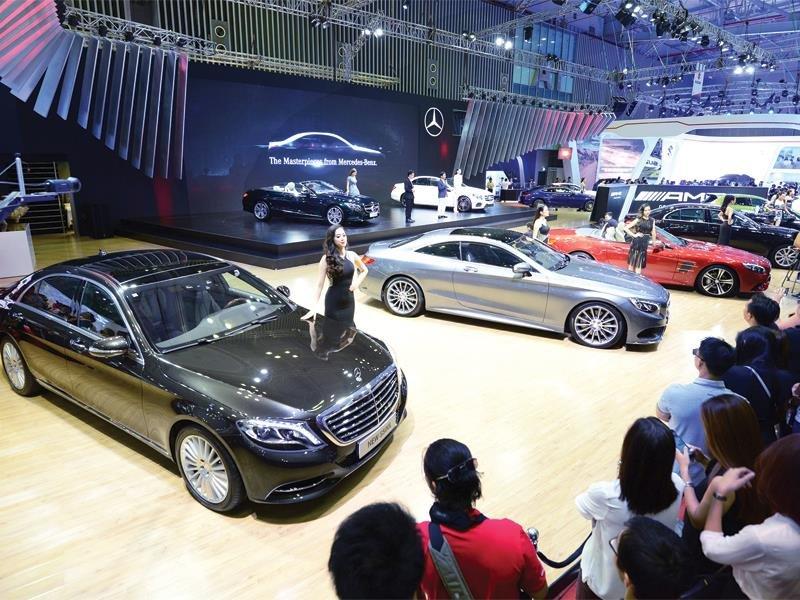 Mercedes-Benz có doanh số cao nhất Việt Nam trong năm 2017 2