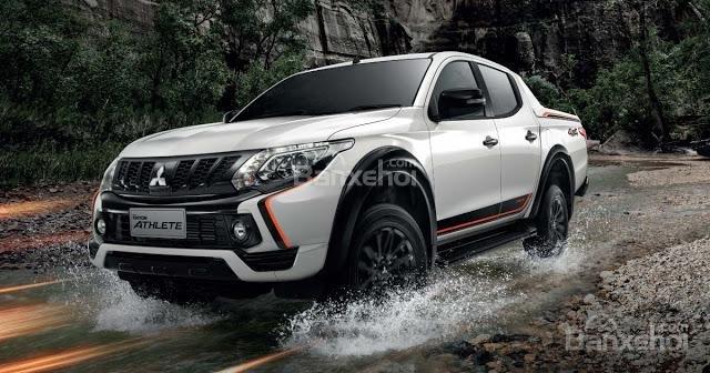 Mitsubishi Triton Athlete cho cảm giác vững trãi.