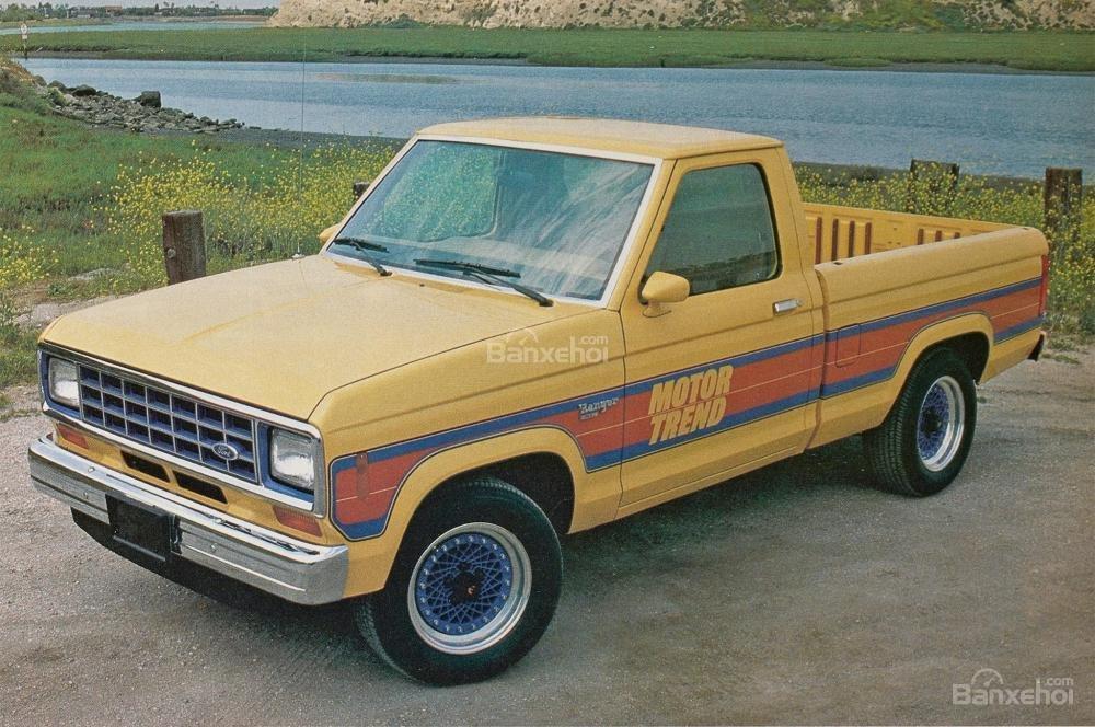 Ford Ranger cỡ nhỏ với dẫn động cầu sau lộ diện vào năm 1983.