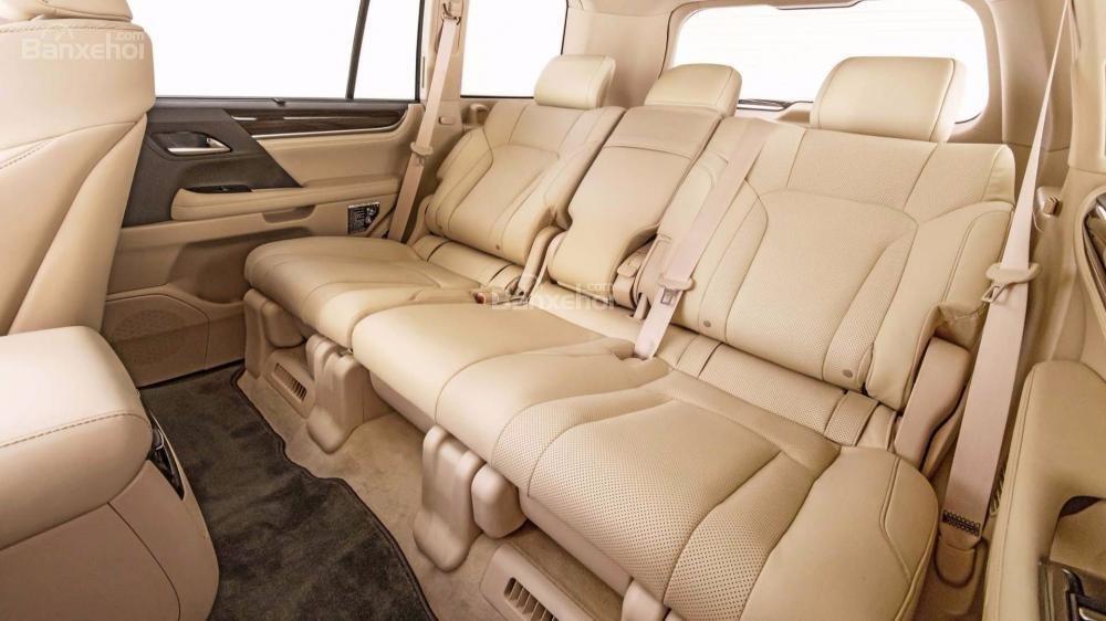 Đánh giá xe Lexus LX 570 2018 bản 5 chỗ