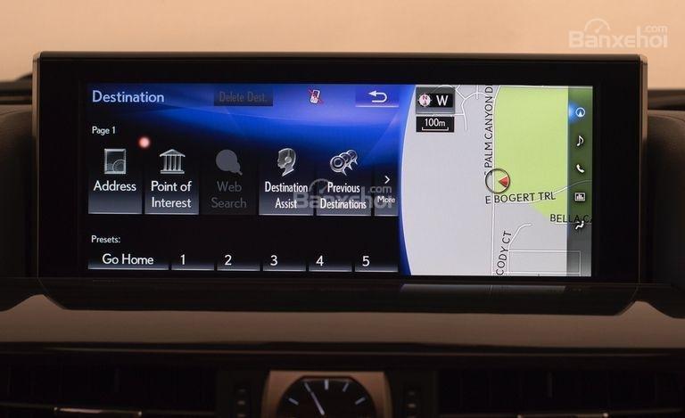 Màn hình thông tin giải trí xe Lexus LX 570 2018 bản 5 chỗ