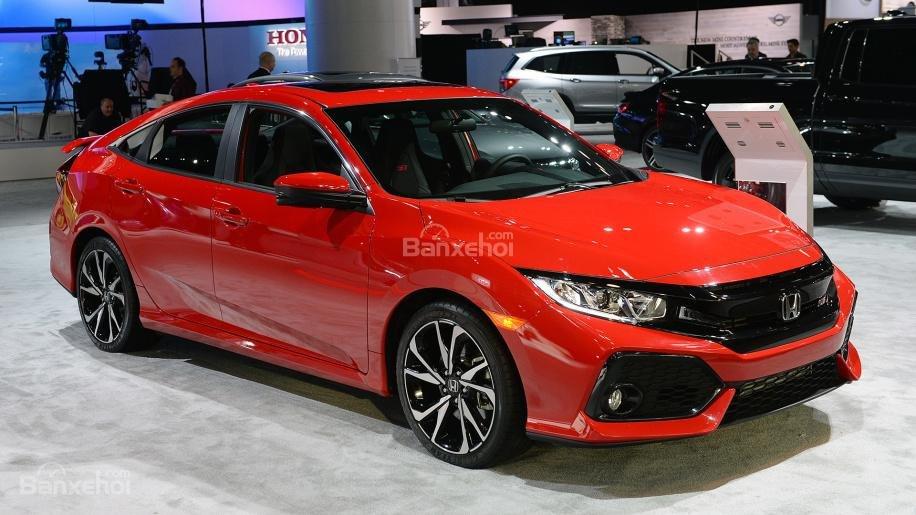 Đánh giá xe Honda Civic Si 2018.