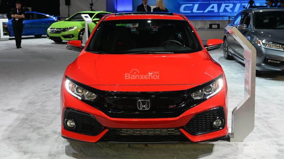 Đánh giá xe Honda Civic Si 2018: Đầu xe.
