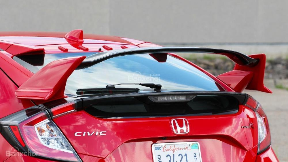 Cánh đuôi gió xe Honda Civic Type R 2018