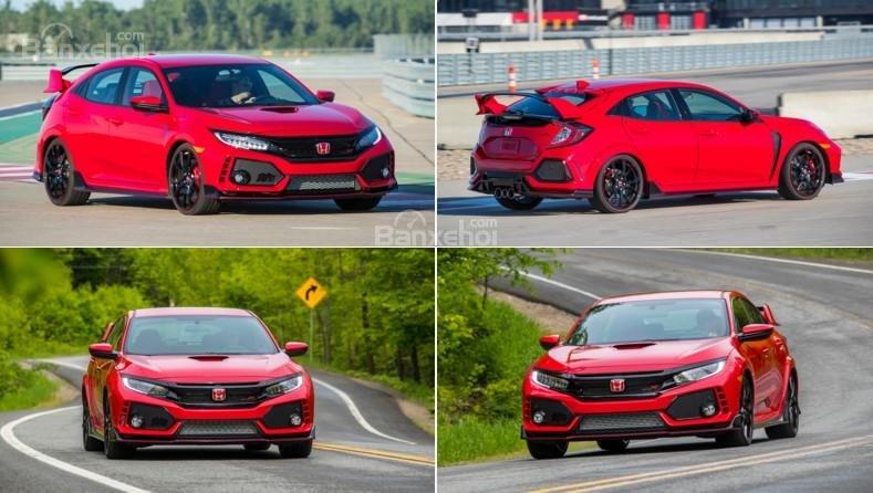 Honda Civic Type R 2018 - Hatchback hiệu suất cao khiến nhiều tín đồ mê tốc độ phải khao khát.
