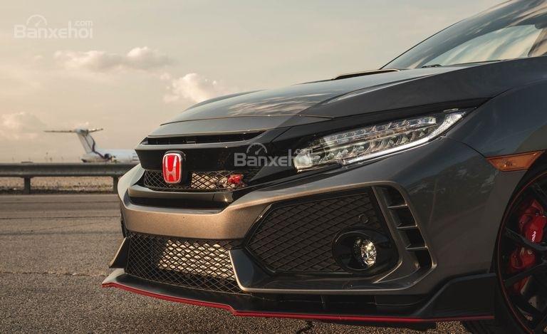 Đầu xe Honda Civic Type R 2018