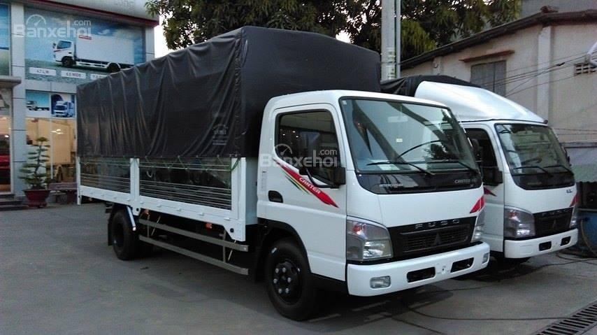 Bán xe Fuso Canter tải 1.8 tấn, mui bạt mới 2017. LH: 098 136 8693-1