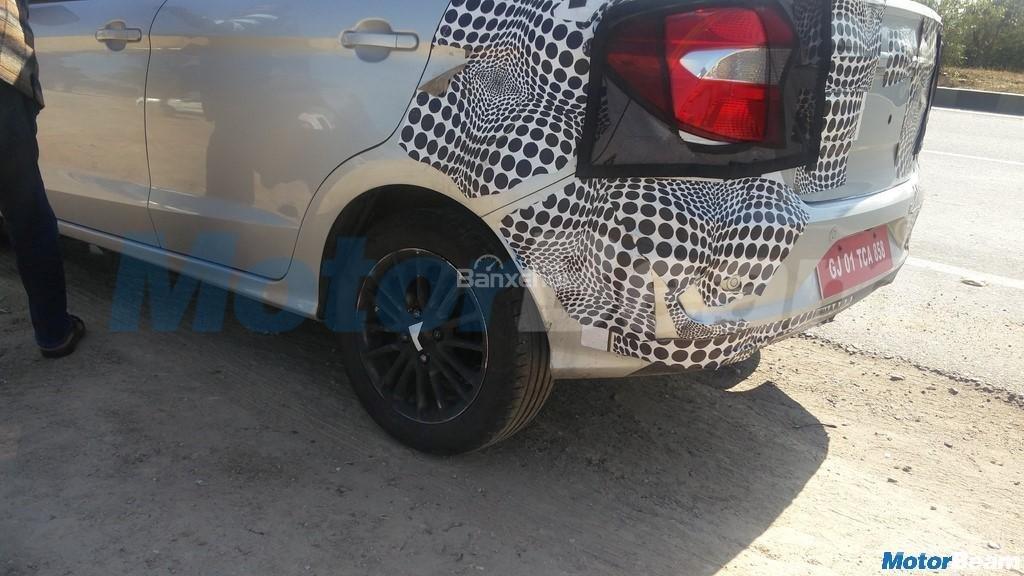 Ford Aspire facelift 2018 có bánh xe được thiết kế lại 2