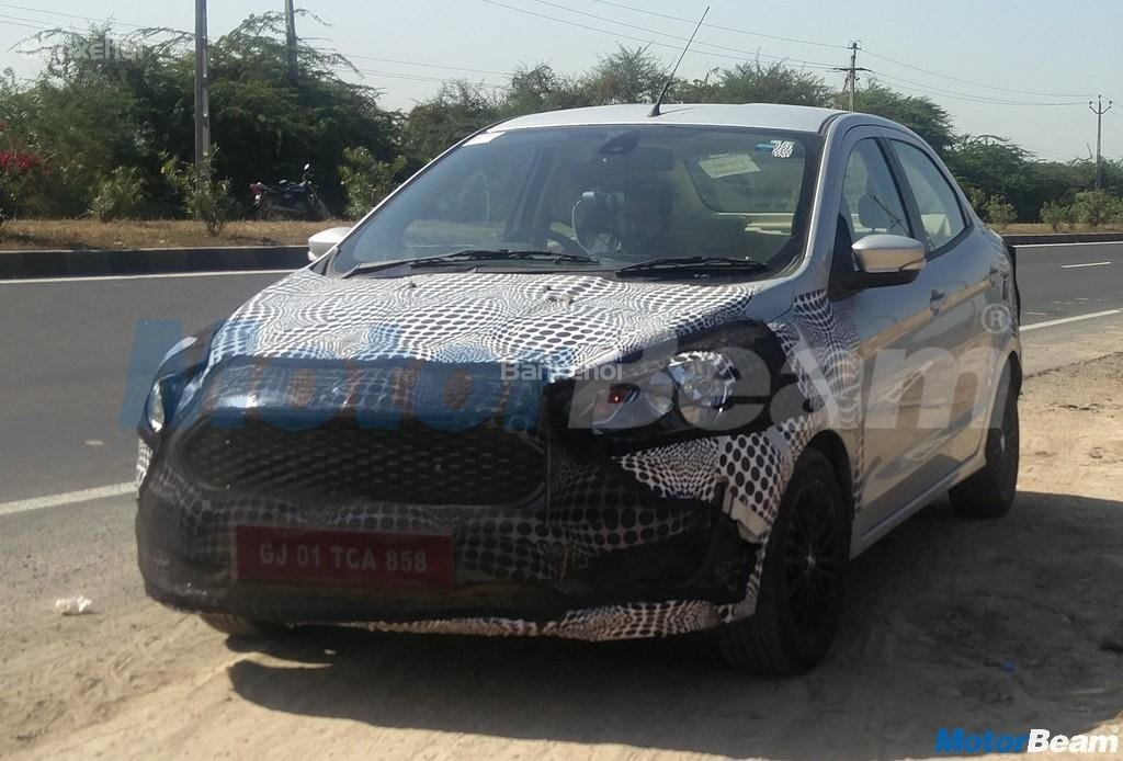 """""""Mặt tiền"""" mới của Ford Aspire facelift 2018 2"""