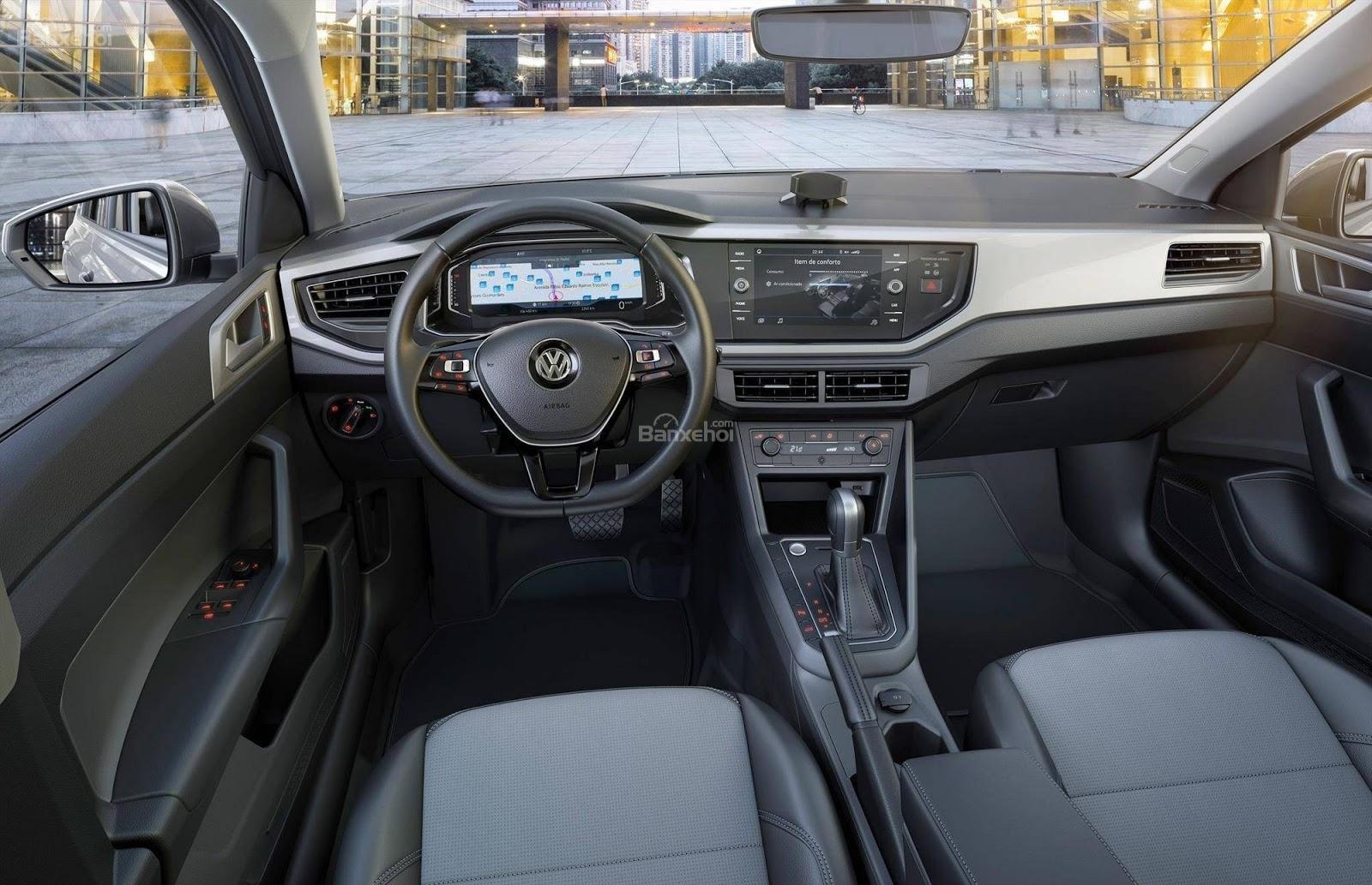 Nội thất của Volkswagen Virtus 2018 2