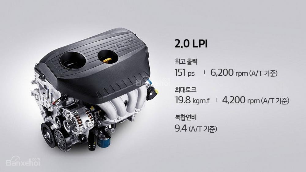 Kia Optima 2018 có 4 tùy chọn động cơ a1