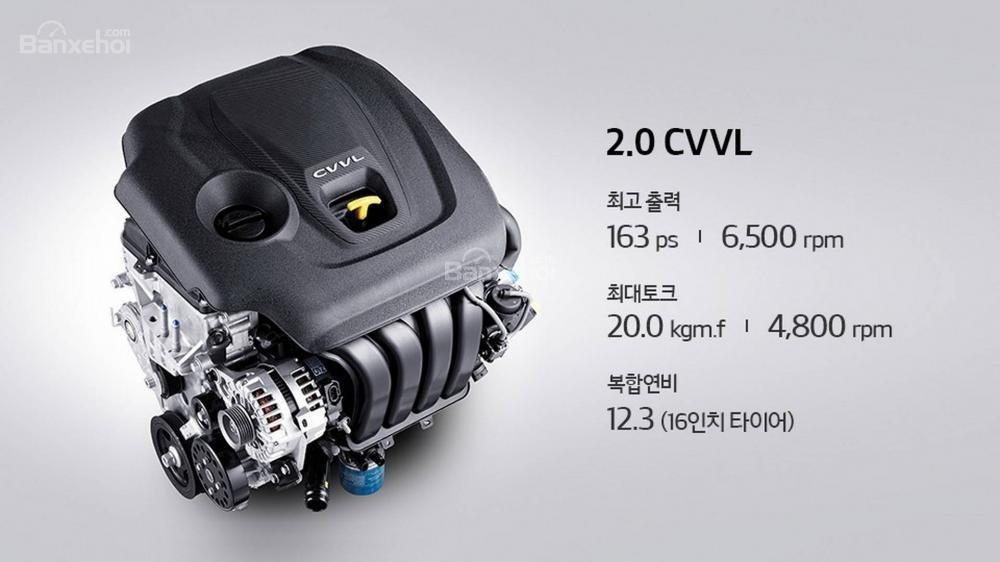 Kia Optima 2018 có 4 tùy chọn động cơ a3