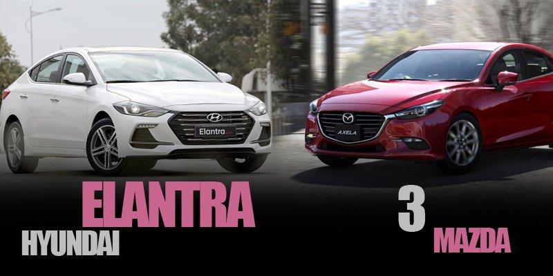 Với 700 triệu, nên mua Mazda 3 2018 hay Hyundai Elantra Sport 2018?.