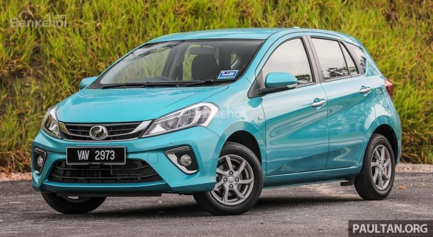 Daihatsu Sirion 2018 (Perodua Myvi 2018) chuẩn bị ra mắt tại Indonesia 2a