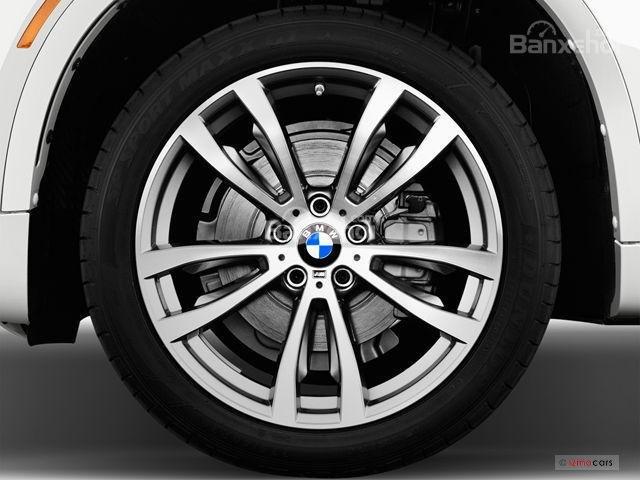 Đánh giá xe BMW X6 2018: Bánh xe 18 inch 1