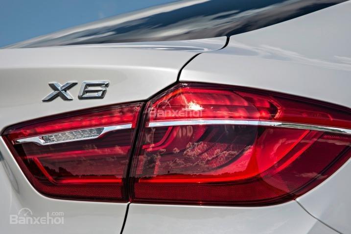 Đánh giá xe BMW X6 2018: Đèn LED hiện đại 1