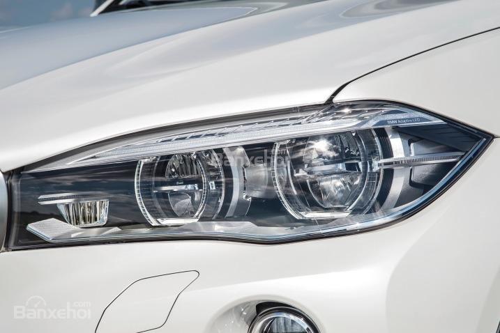 Đánh giá xe BMW X6 2018: Đèn pha kép lớn 1