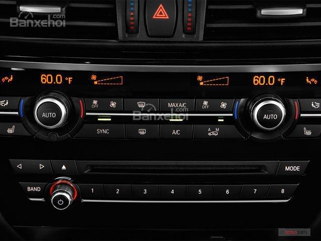 Đánh giá xe BMW X6 2018: Điều hòa nhiệt độ 2 vùng 1