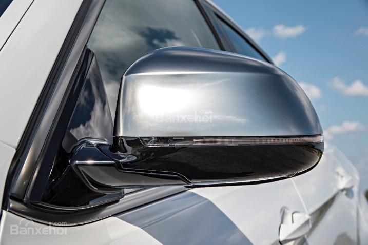 Đánh giá xe BMW X6 2018: Gương chiếu hậu điều chỉnh điện 1