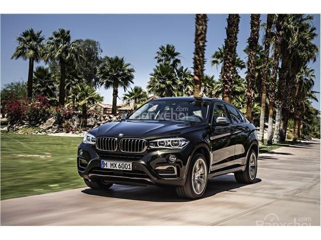 Đánh giá xe BMW X6 2018: Xe có mức tiêu thụ nhiên liệu hợp lý