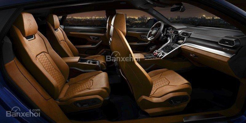 Đánh giá xe Lamborghini Urus 2019 về hệ thống ghế ngồi..