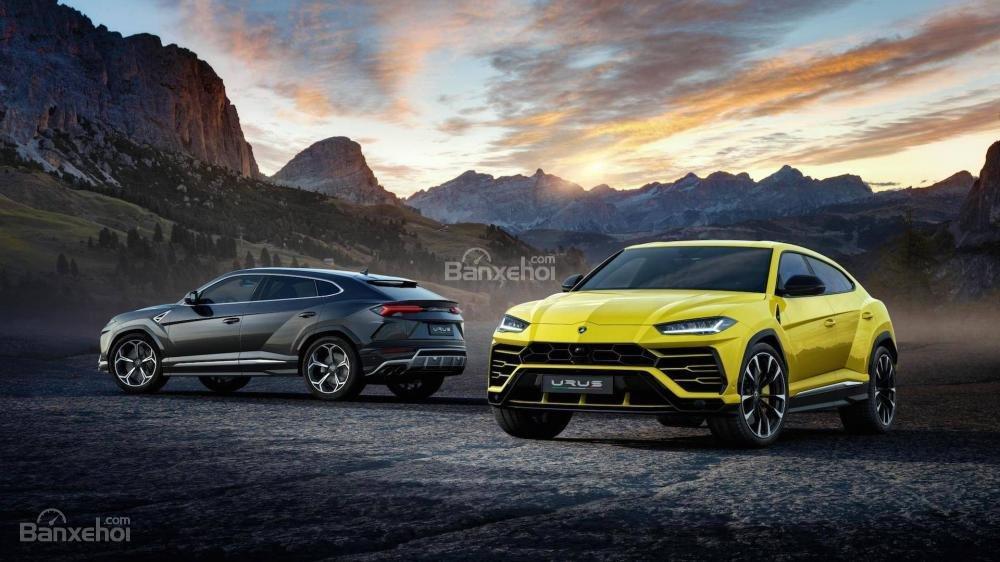 """Lamborghini Urus 2019 thể hiện tham vọng thống lĩnh phân khúc SUV hạng sang của """"siêu bò""""."""