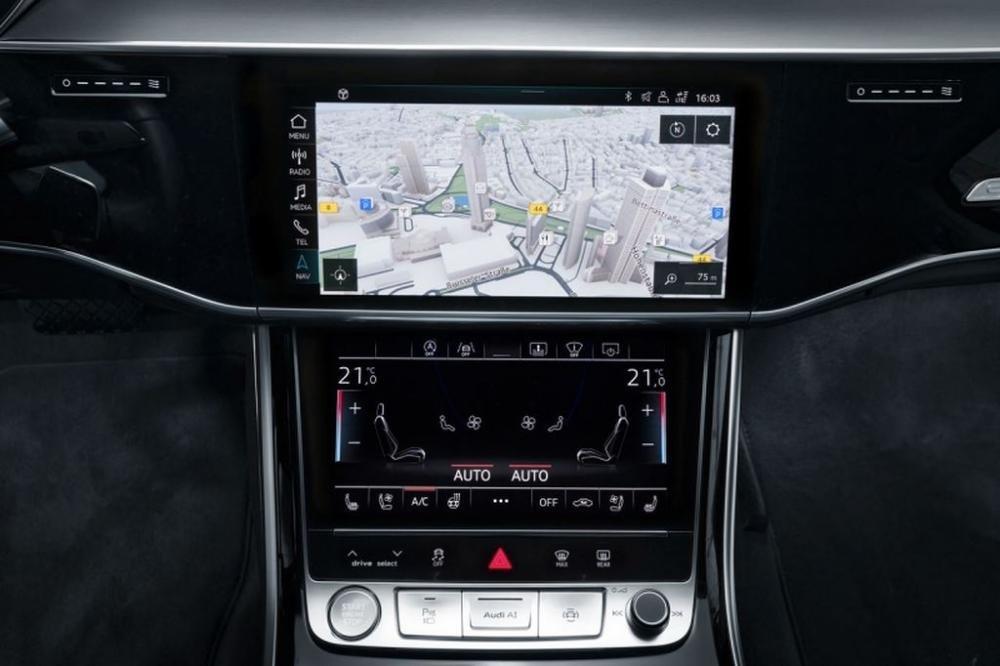 Khám phá công nghệ định vị dẫn đường thông minh của Audi A8 2