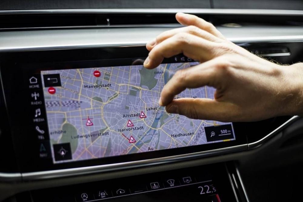 Khám phá công nghệ định vị dẫn đường thông minh của Audi A8 1