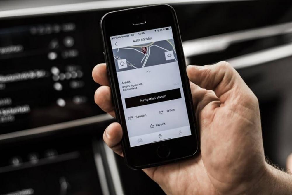 Khám phá công nghệ định vị dẫn đường thông minh của Audi A8 4