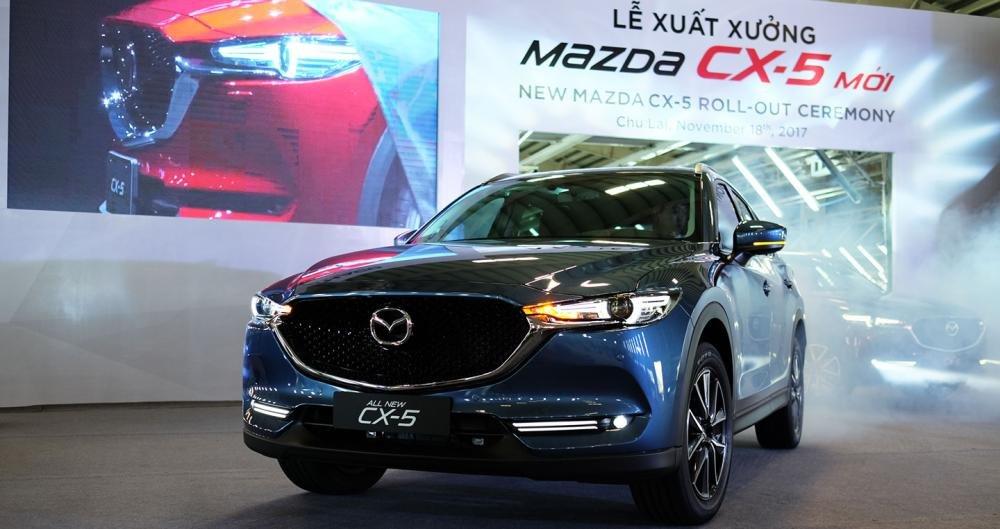 Giá xe Mazda CX-5 2018 tháng 4/2019.