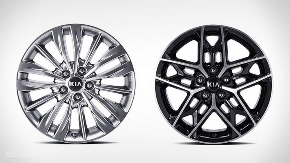 Đánh giá xe Kia Optima/ K5 2019: Mâm hợp kim.