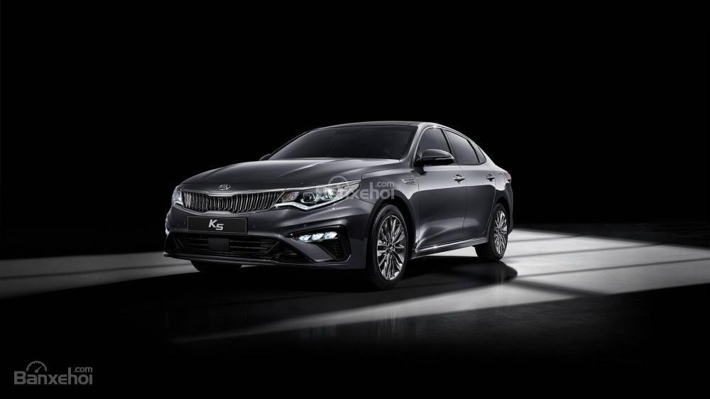 Đánh giá xe Kia Optima/ K5 2019: Đầu xe.