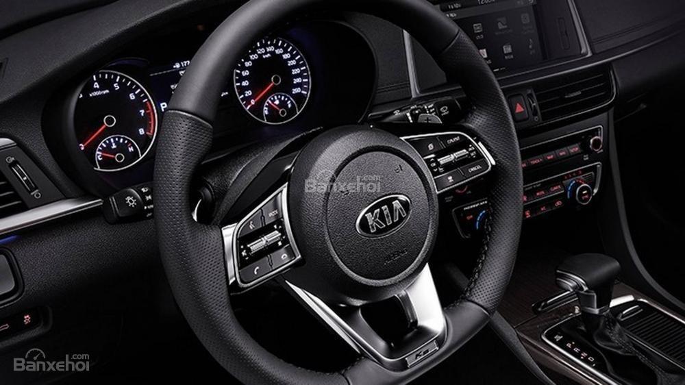 Đánh giá xe Kia Optima/ K5 2019: Vô lăng.