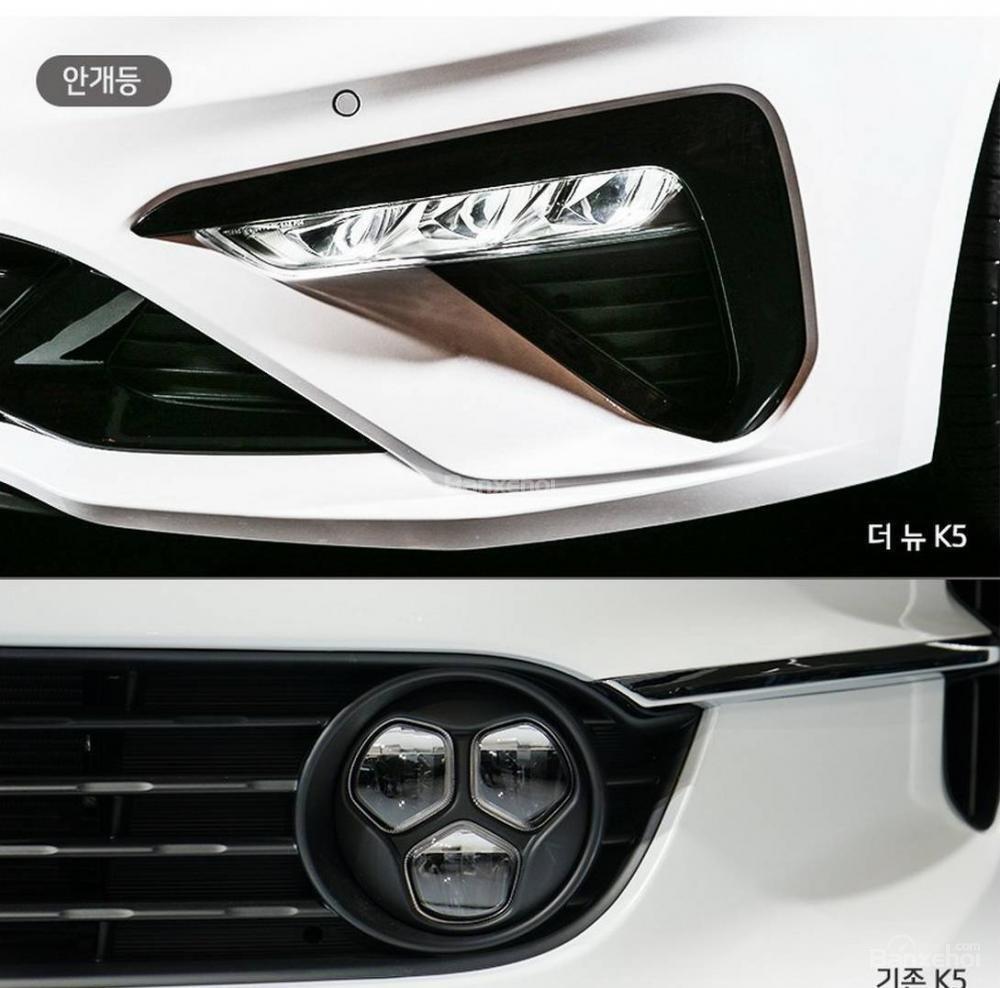 So sánh sự khác biệt giữa thiết kế của Kia Optima/ K5 thế hệ mới và cũ - Ảnh 2.