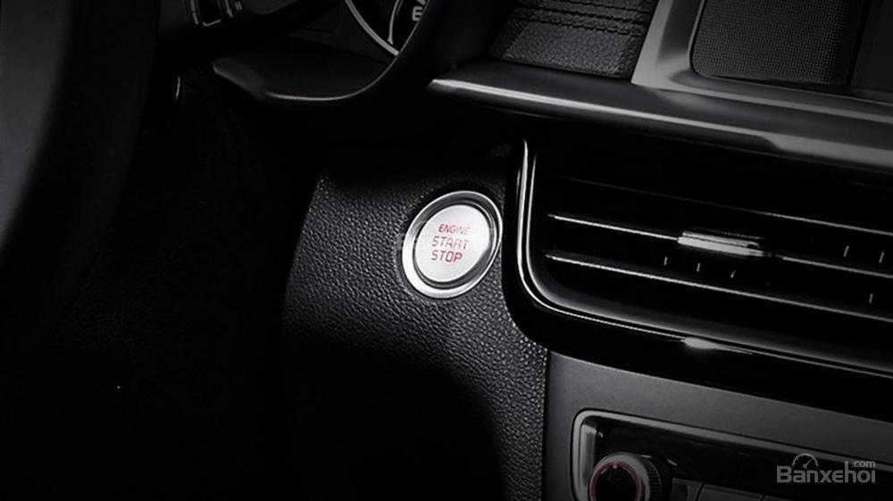 Đánh giá xe Kia Optima/ K5 2019: Nút khởi động.