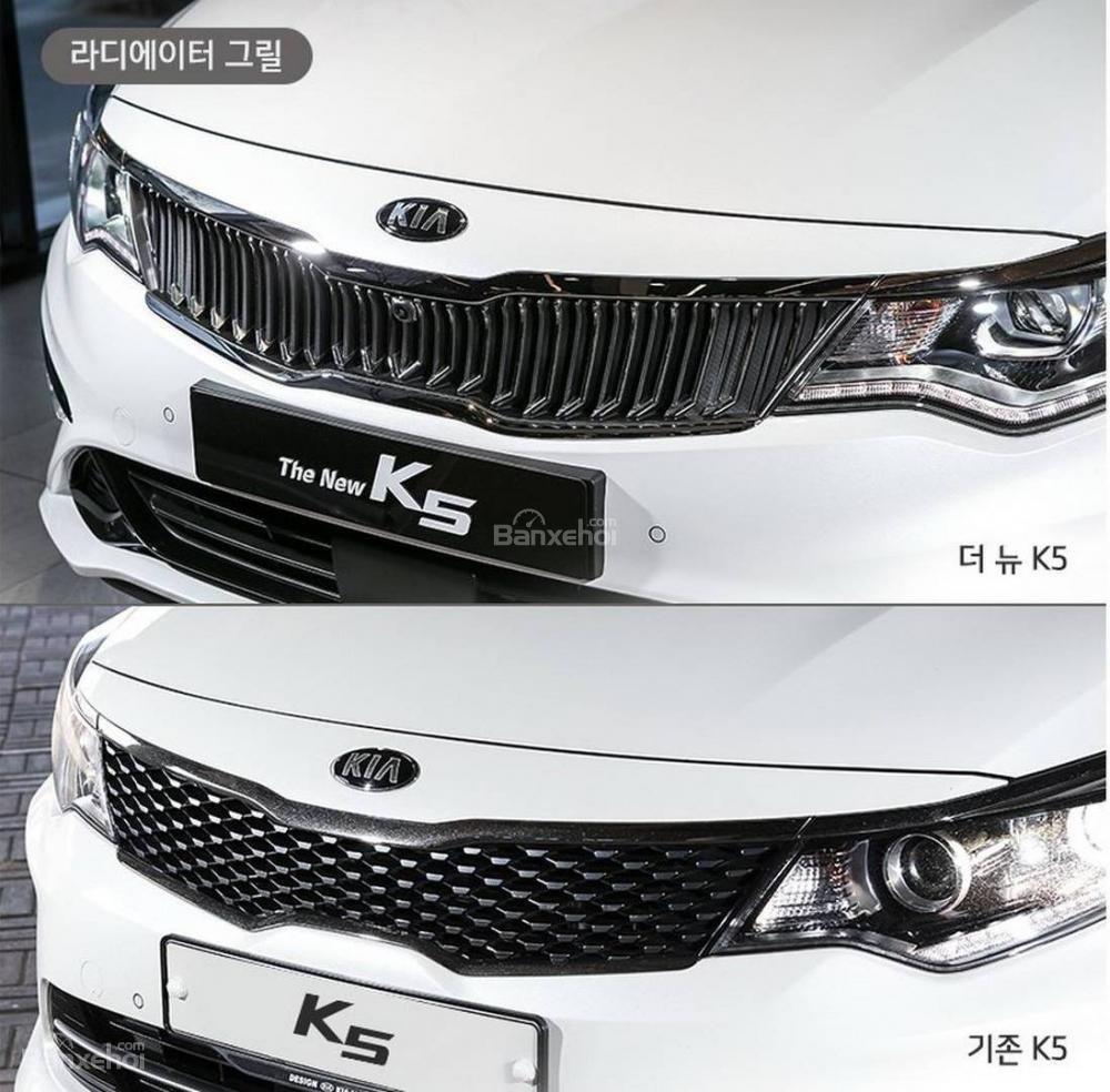 So sánh sự khác biệt giữa thiết kế của Kia Optima/ K5 thế hệ mới và cũ - Ảnh 1.