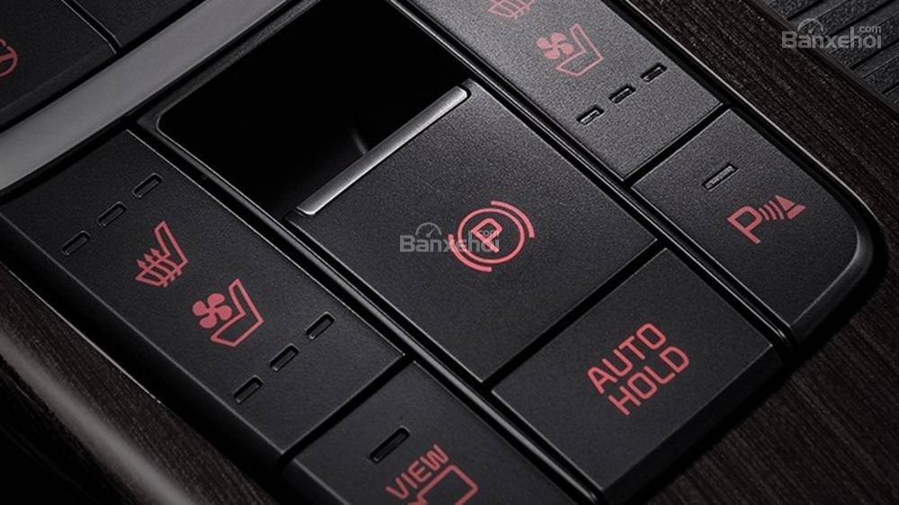 Đánh giá xe Kia Optima/ K5 2019: Nút điều khiển.