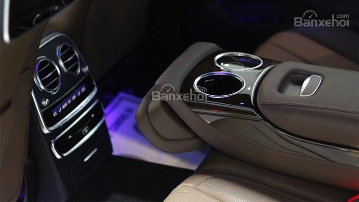 Bán Mercedes S400 đăng kí 2017, chỉ 1080 triệu nhận xe ngay với gói vay cực ưu đãi-4