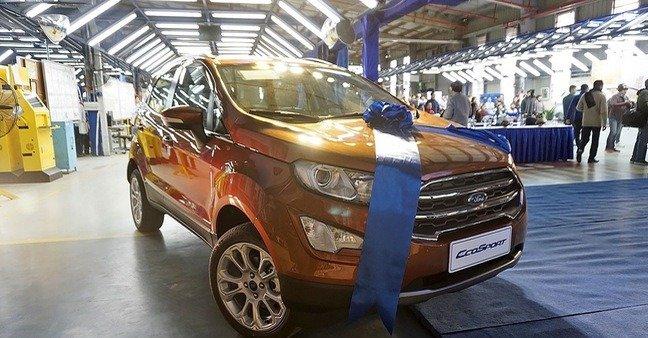 Giá xe Ford EcoSport 2019 mới nhất tại Việt Nam...
