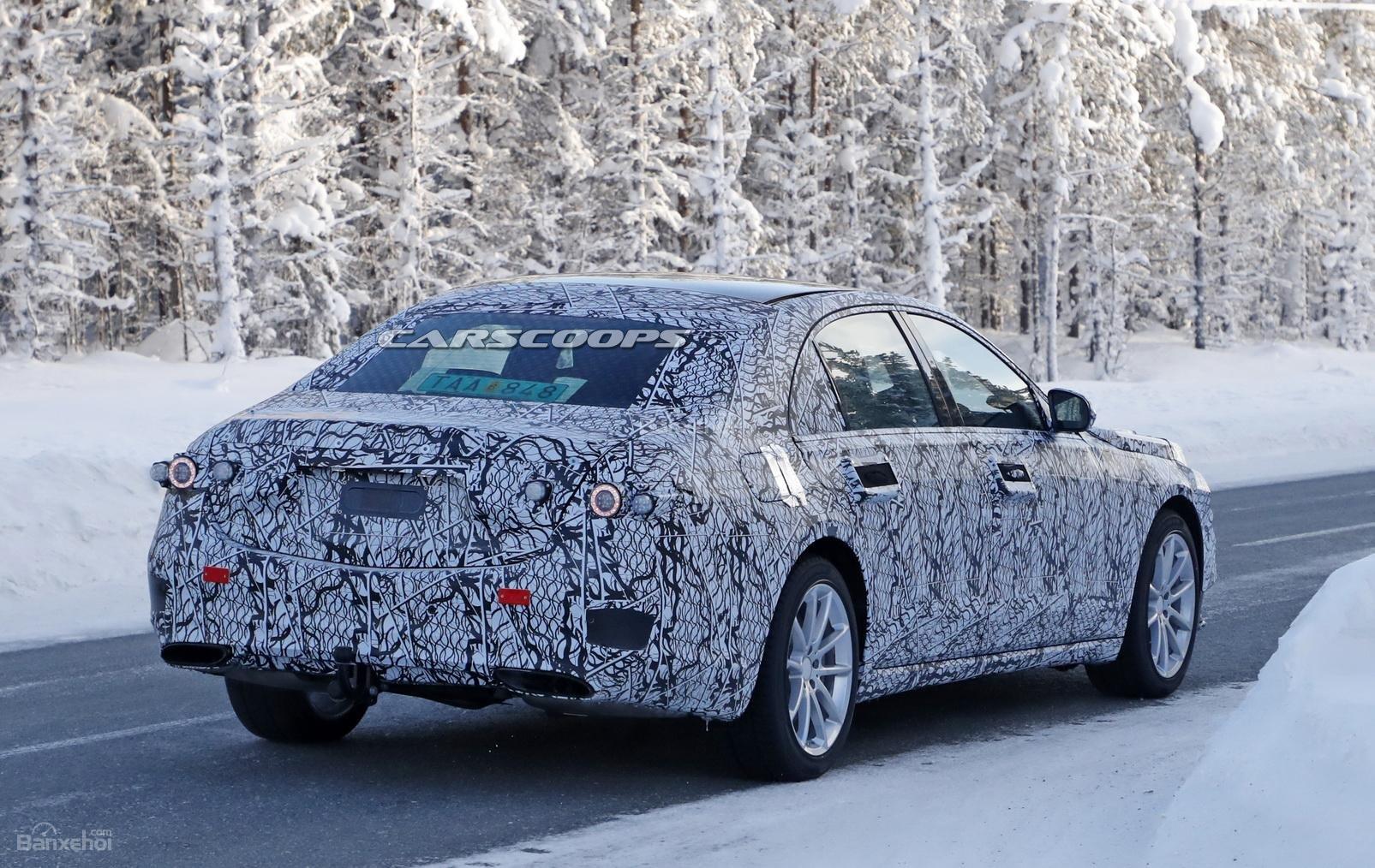 Mercedes-Benz S-Class 2020 lần đầu tiên lộ ảnh chạy thử 3a
