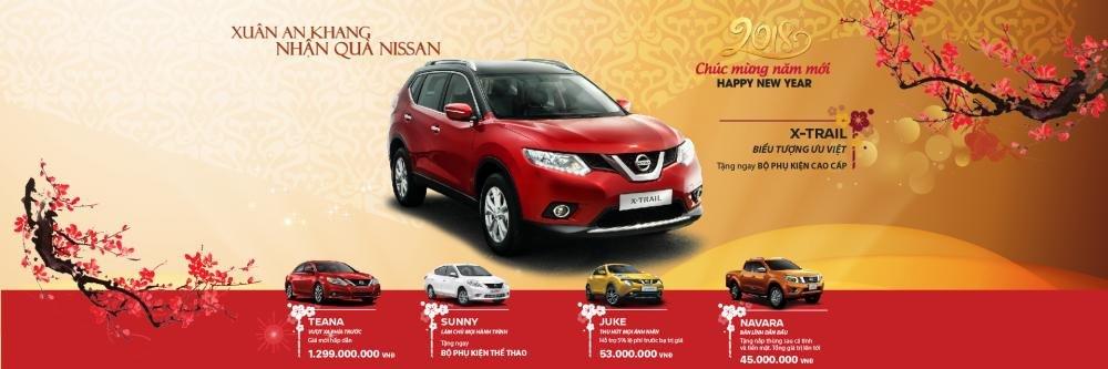 Chào Xuân Mậu Tuất, Nissan Việt Nam ưu đãi nhiều mẫu xe cao nhất đến 53 triệu đồng a1
