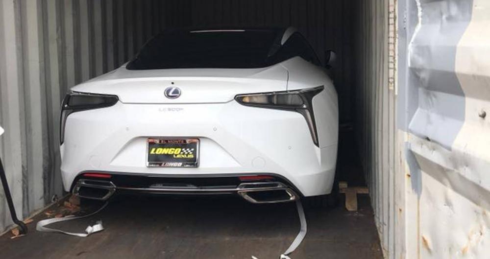 Chiếc Lexus LC500h thứ 2 vừa cập bến Việt Nam a2
