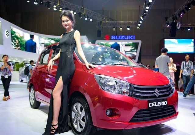 Ngoại thất xe Suzuki Celerio 2019 a2