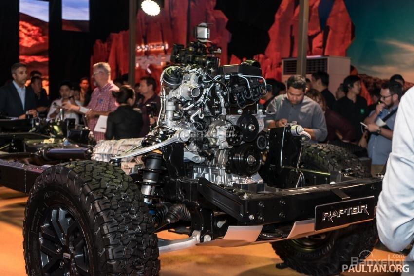 Khung xe tinh chỉnh riêng của Ford Ranger Raptor 2019 2