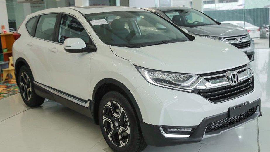 So sánh Mazda CX-5 2018 và Honda CR-V 2018 về đầu xe 5