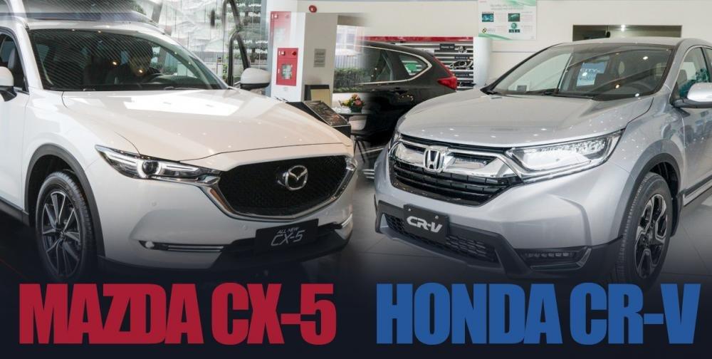 So sánh xe Mazda CX-5 2018 và Honda CR-V 2018: Khó phân thắng bại 2
