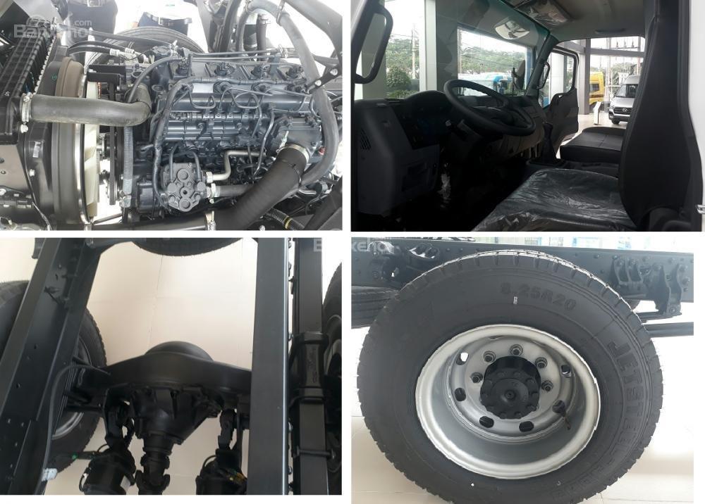 Xe tải 7 tấn, xe tải Nhật Mitsubishi 7 tấn, thùng dài 5m9-6