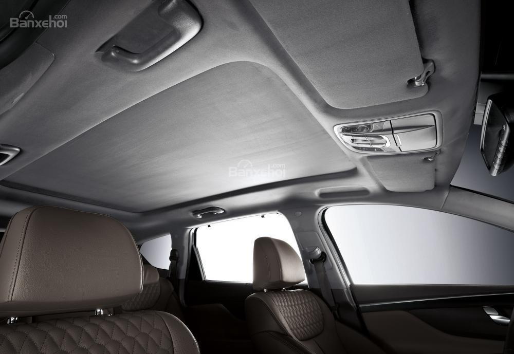 Không gian trần xe Hyundai Santa Fe 2019-2020 /