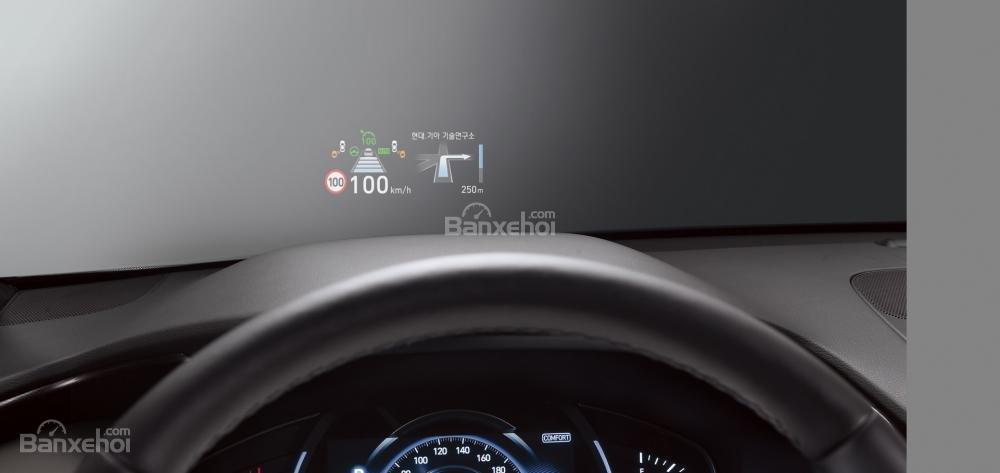 Màn hình HUD trên xe Hyundai Santa Fe 2019-2020 /